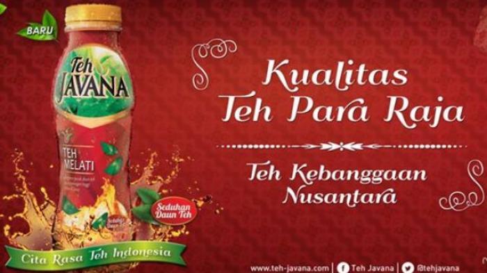 Teh Javana Merangsek Pasar Minuman Kemasan Tribun Jogja