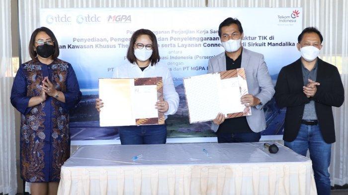 Telkom dan ITDC Siap Dukung Digitalisasi Kawasan Mandalika Jadi Destinasi Wisata Dunia