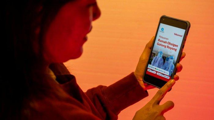 Telkomsel Dukung Operasional Rumah Oksigen Gotong Royong