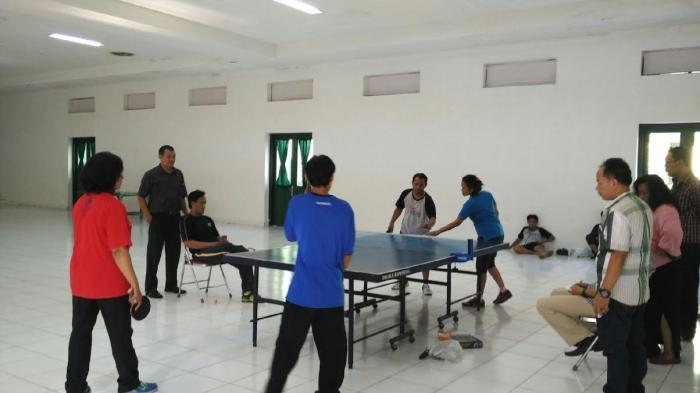 Target Sapu Bersih Emas di Porda DIY, Pengkot PTMSI Yogyakarta Pindahkan Venue Latihan