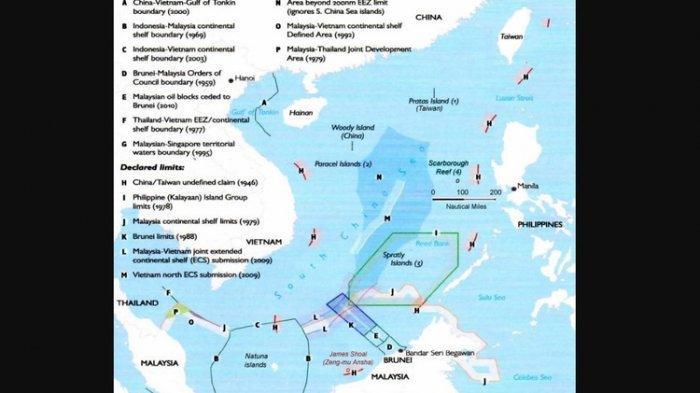 Tensi di Laut China Selatan Meningkat, AS dan China Sama-sama Kirimkan Kapal Induk