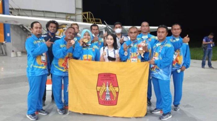 Terbang Layang Tambah Medali Emas DIY di Ajang PON XX Papua