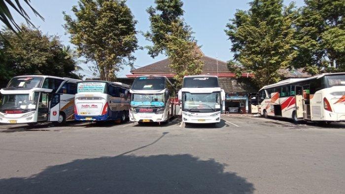 Peniadaan Mudik Lebaran, Jumlah Penumpang di Terminal Wates Kulon Progo Tampak Sepi