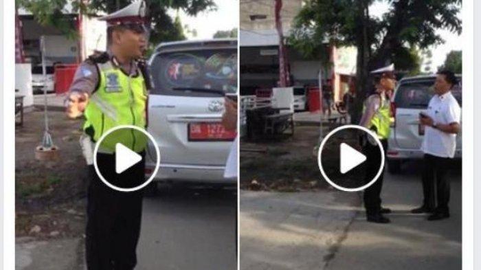 Nekat Menerobos Lampu Merah, Tapi Pengendara Mobil Plat Merah Ini Tak Mau Ditilang