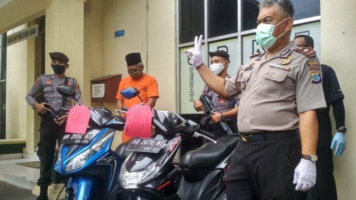 Seorang Mantan PNS di Bantul Lakukan Tindak Penipuan dan Gelapkan Motor Sewaan