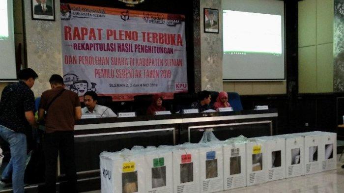 Ada Kesalahan DPT, KPU Sleman Pastikan Tidak Pengaruhi Rekapitulasi Suara