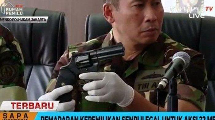 Terungkap Satu di Antara Eksekutor Pembunuh Bayaran Tokoh Nasional di Aksi 22 Mei Mantan Anggota TNI