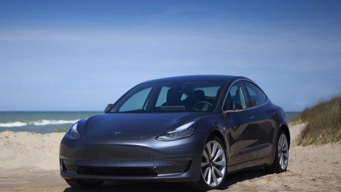 Spesifikasi Tesla Model 3 Mobil Listrik Termurah Tesla Yang Dijual Di Indonesia Tribun Jogja