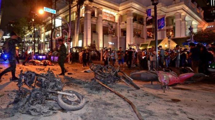 Ledakan Bom Di Bangkok