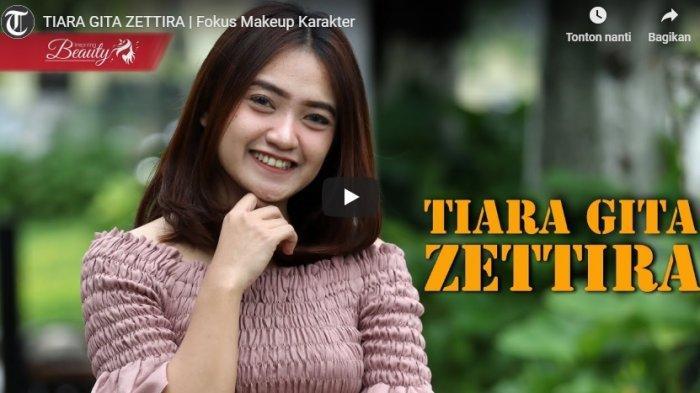 TRIBUN JOGJA TV: TIARA GITA ZETTIRA, Fokus Makeup Karakter