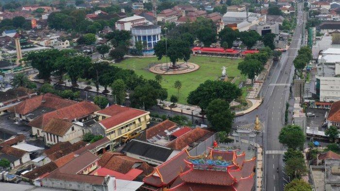 Tidak Ada Pesta Perayaan Tahun Baru di Alun-alun Kota Magelang