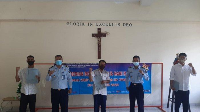 Tiga Napi Dapat Remisi Natal di Lapas Kelas IIA Jogja