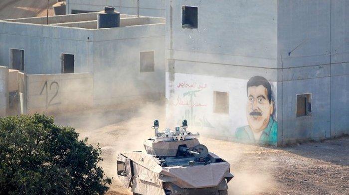 Tiga Perusahaan Israel Kembangkan Tank Tempur Masa Depan dengan Sistem Kendali Mirip di Video Game
