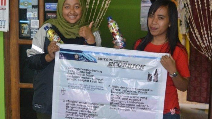 Tim 1 KKN Undip Beri Workshop dan Pelatihan Pembuatan Ecobrick di Dusun Ngaglik