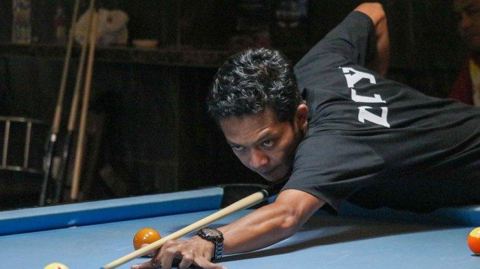 Tim Biliar Puslatda PON DI Yogyakarta Beruji Tanding Lawan Tim Biliar Sumatera Barat