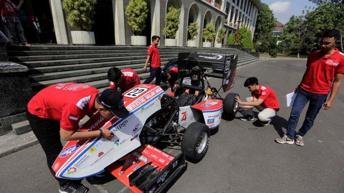 Tim Bimasakti Pertamax Turbo UGM Generasi 9 Terus Tingkatkan Performa