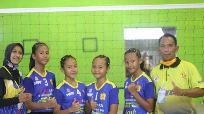 Puspa Indah Putri A dan Mutiara Putri A Lolos ke Semifinal Kejurkab Bola Voli KU-12 Kabupaten Sleman