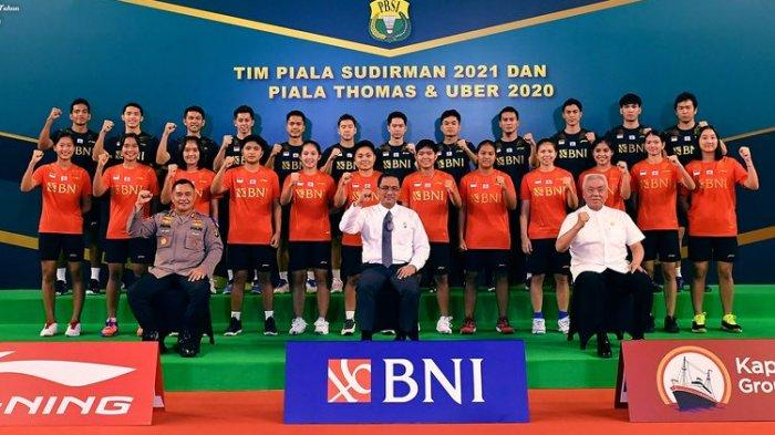 Tim Piala Sudirman 2021 Indonesia Berangkat ke Finlandia Malam Ini