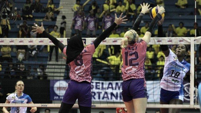 Tim Putri Jakarta PGN Popsivo Polwan Rebut Gelar Juara Proliga 2019