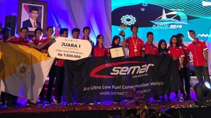 Tim SEMAR UGM Raih 2 Kemenangan pada Ajang KMHE 2019 di Malang