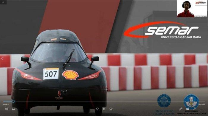 Tim SEMAR UGM Raih Tiga Gelar Dalam Kontes Mobil Hemat Energi 2020
