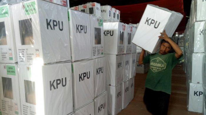 Tinggal 2 Hari, KPU Kota Yogyakarta Pastikan Logistik Pemilu Sampai ke TPS Tepat Waktu