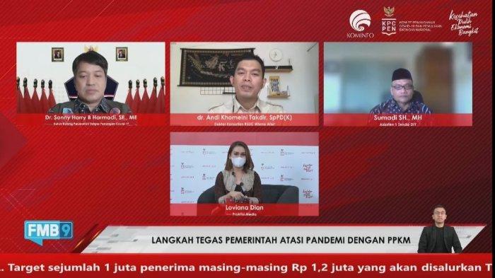 Tingkat Kepatuhan Warga DI Yogyakarta Terhadap Prokes Menurun dalam Sepekan Terakhir