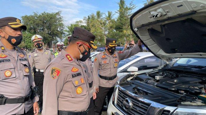Tingkatkan Pelayanan, Polres Magelang Gelar Apel Pengecekan Kendaraan Dinas
