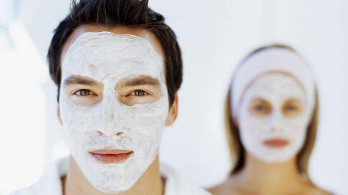 Ilustrasi menggunakan masker
