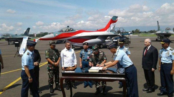 24 Pesawat Tempur F-16 Hibah AS Resmi Diterima Indonesia