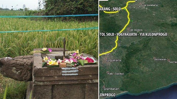 Tol Yogyakarta-Solo Wilayah Klaten Libas Yoni Berkepala kura-kura