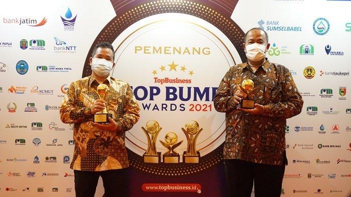 Kota Magelang Raih 5 Penghargaan pada AjangTOP BUMD Awards 2021