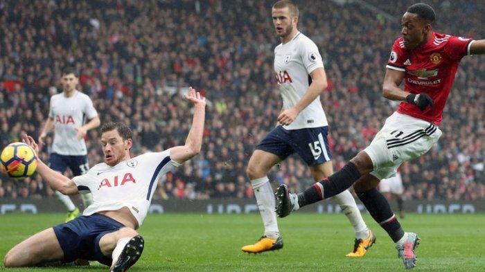 Tottenham Hotspur vs Manchester United (MU) - Prediksi Skor Line Up H2H & Jam Tayang TV Liga Inggris
