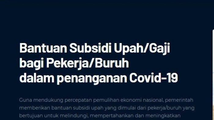 Kabar Gembira, Subsidi Gaji Karyawan Swasta Bakalan Digulirkan Lagi, Ini Bocoran Info Terbarunya