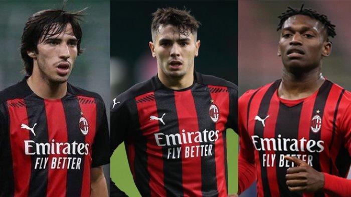AC MILAN: Inilah 3 Pemain Muda Masa Depan Skuad Utama Stefano Pioli