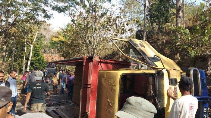 Kronologi Kecelakaan Truk di Tanjakan Mendak, Terbalik Hingga Sebabkan Puluhan Penumpang Terlempar