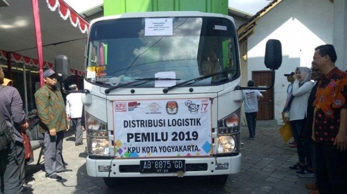 Hari Ini, KPU Kota Yogyakarta Mulai Distribusikan Logistik Pemilu 2019