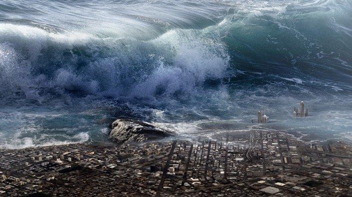 6 Arti Mimpi Diterjang Tsunami dan Ombak Besar Menurut Primbon