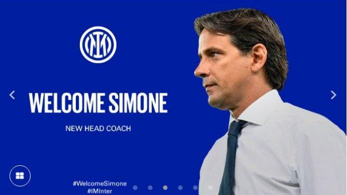 Tugas Simone Inzaghi di Inter Milan Dimulai, Diawali Bertemu Steven Zhang