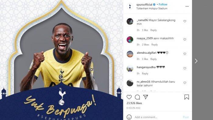 UCAPAN Ramadan Klub-klub Besar Eropa bagi Muslim, Spurs Paling Istimewa untuk Orang Indonesia