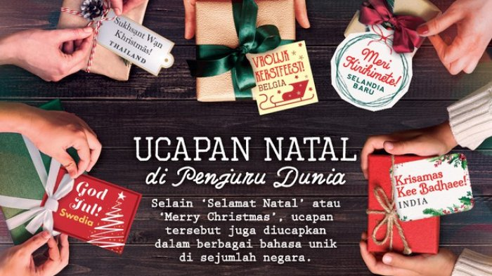 Kumpulan Kata Kata Mutiara Ucapan Selamat Natal Istimewa Untuk Sahabat Dan Keluarga Terkasih Tribun Jogja