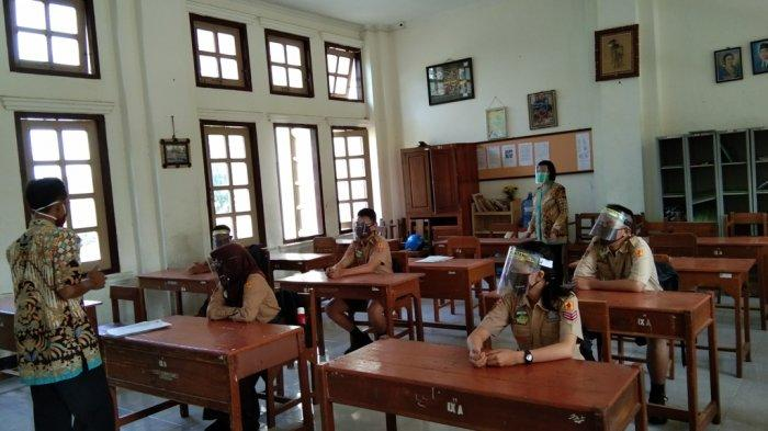 Pemkab Klaten Berencana Uji Coba Tatap Muka Terbatas Satu Sekolah Satu Kecamatan