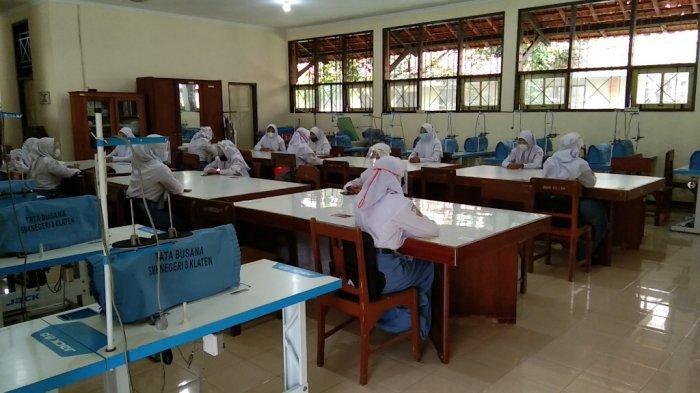 Uji Coba PTM di Klaten Berjalan Lancar, Kepala Sekolah Berharap Pelaksanaan Diperluas