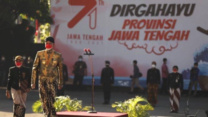 Ganjar Pranowo Ajak Warga Saling Kuat Menguatkan di Momen HUT ke-71 Provinsi Jawa Tengah