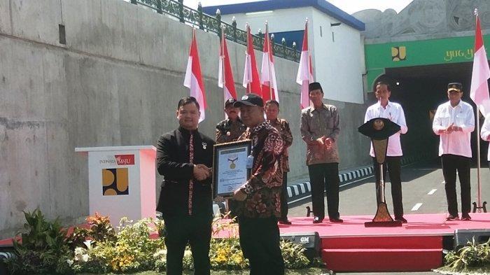 Underpas YIA Raih Rekor Muri Sebagai Terowongan Terpanjang di Indonesia