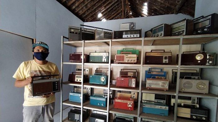 Unik, Pria di Magelang Ini Koleksi Ratusan Radio Transistor Lawasan, Tertua Lansiran Tahun 1950