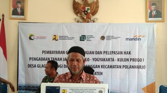 Unik, Tanah Warga Klaten ini Diterjang Tol Yogyakarta-Solo Seluas 2 Meter Saja