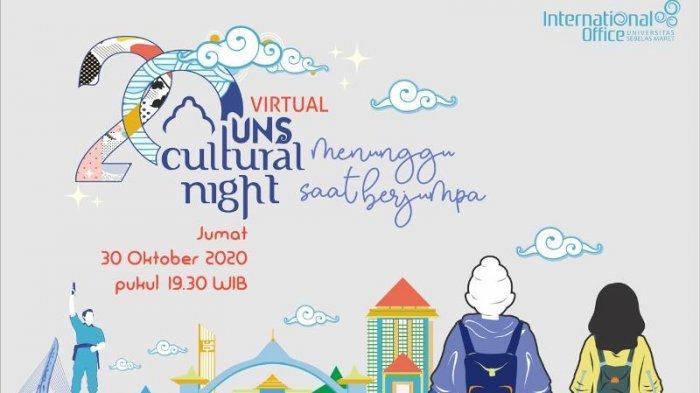 Lebih dari 20 Negara Berpartisipasi di Virtual UNS Cultural Night 2020
