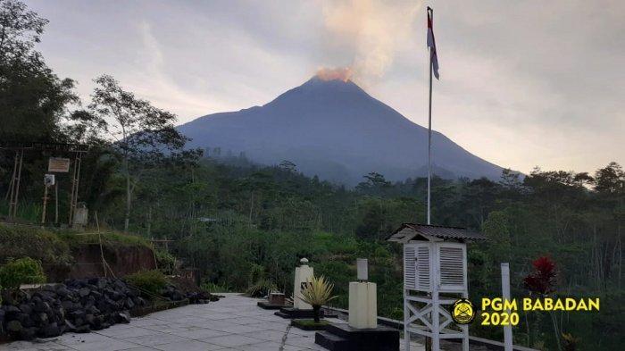 UPDATE Aktivitas Gunung Merapi Terkini, Sehari Terdengar 10Kali SuaraGuguran