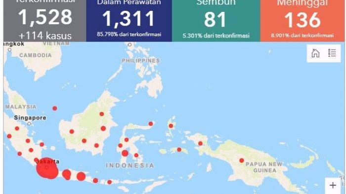 Update Hari Ini Jumlah Pasien Virus Corona Provinsi Di Indonesia Jogja Jabar Jakarta Sumatera Tribun Jogja
